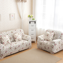 Slipcovers Printed Sofa Cover Polyester Spandex Slipcover Big Couch Cover Loveseat Sofa Funiture Cover Case1/2/3-seater