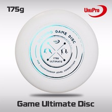 WFDF Approved Free Shipping 175g Professional Ultimate Disc UltiPro Ultimate Frisbee Gamedisc(China)