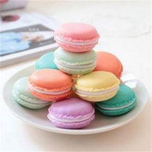 2017 New 4 Color Mini Macarons Box For Jewelry Earring Ring Outing Storage Boxes