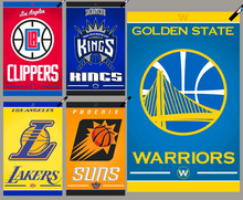 Clippers gold state Warriors Lakers Suns Kings basketball fans towel quick drying compact travelling sports surfing towel