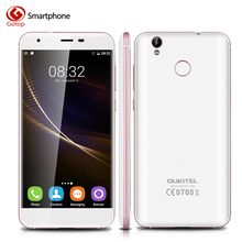 Original Oukitel k7000 Smartphone 5.0 Inch Android 6.0 MTK6737 Quad Core Mobile Phone 2GB RAM 16GB ROM Fingerprint 4G Cell Phone