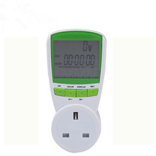 Digital Energy Saver energy Power Meter tester Electric Wireless Watt Consumption Monitor Analyzer energy meter UK plug(China)