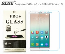 SIJIE Tempered Glass For HUAWEI honor 7i 0.26mm Screen Protector protective front stronger 9H thin discount with Retail Package