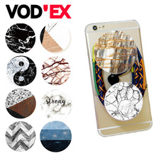 Round POP marble Moblie Phone Device Holders and Stands Phone Wire Wrapping  for Smartphones & Tablets