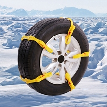 Professional Snow Chains Car Snow Tire Anti-skid Chain For Car Vehicles Truck SUV Winter Driving Auto Maintenance Christmas(China)