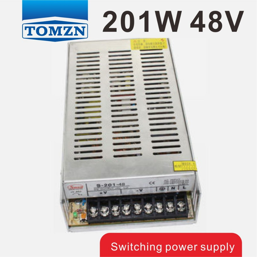 201W 48V 4.2A Single Output Switching power supply for LED Strip light AC to DC<br>