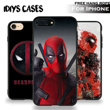 Deadpool Wade Wilson Coque Tpu Soft Silicone Phone Case Cover Shell For Apple iPhone 5 5S SE 6 6S 6Plus 6sPlus 7 7Plus 8 8Plus X(China)