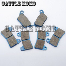 1 Set Front Rear Motorcycle Brake Pads For Honda CBR 600 RR 2007-2010 CBR 600 R / RA9 ABS Model 2009-2010 CBR 1000 RR 2006-2010(China)