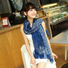New Arrival Simple Retro Lady Soft Long Neck Large Scarf Wrap Shawl Pashmina Stole Scarves 2016