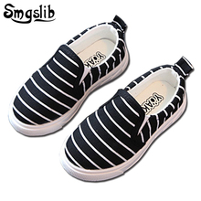 Size 21-36 cheap Kids canvas shoes 2017 Spring autumn toddler girl school shoes outdoor wear fashion flat casual Children shoes