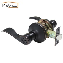 Probrico Wholesale 10 PCS Security Safe Key Door Lock Stainless Steel Oil Rubbed Bronze DL12061ORBET Entrance Locker(China)