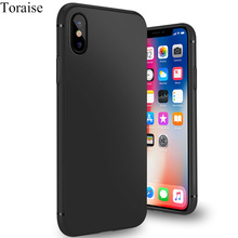 Buy Toraise Ultra thin Case iPhone X Case Slim Frosted Soft Silicone Tpu Case iPhone 8 8 Plus cover iphone 7 7Plus 6s 6 for $3.14 in AliExpress store