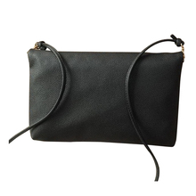 Hot Fashion Sling Fold Crossbody Bags Women's Messenger bags Shoulder bags Small Hinge Drop Chain Black