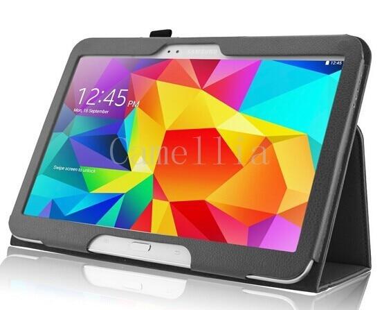 For Samsung Galaxy Tab 4 10.1, Folio Case Slim Fit Premium Vegan Leather Cover for Samsung Tab 4 10-Inch Tablet<br><br>Aliexpress