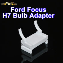 H7 HID Bulb Adapter Base Xenon Lamp Holder For 2009-2010 Ford FOCUS Low Beam Headlight