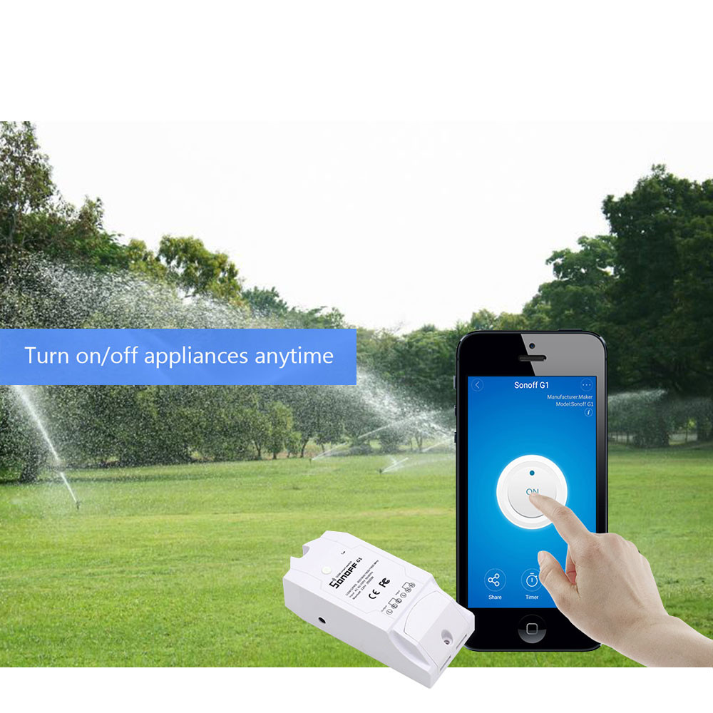 XINSILU Home Automation Modules G1WiFi Smart Switch Wireless Remote Control Timing Smart Switch for IOS Android de7