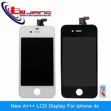 Liujiang Original quality LCD Display Touch Screen Digitizer Frame Assembly For iphone 4s 4 4g Replacement Free Shipping