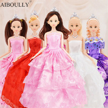 19 style 30cm Cute Beautiful Doll Toy Moveable Joint Body Fashion Toys High Quality Girls Plastic Classic Best Gift Figure