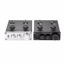 2018 Latest Nobsound Mini TUBE-03 Mini 6J1 Vacuum Tube Preamplifier Hi-Fi Stereo PreAmp With Treble & Bass & Volume Control(China)