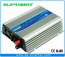 FREE SHIPPING indoor design input 22-60V 300W On Grid Solar Micro Inverter pure sine wave output(China)