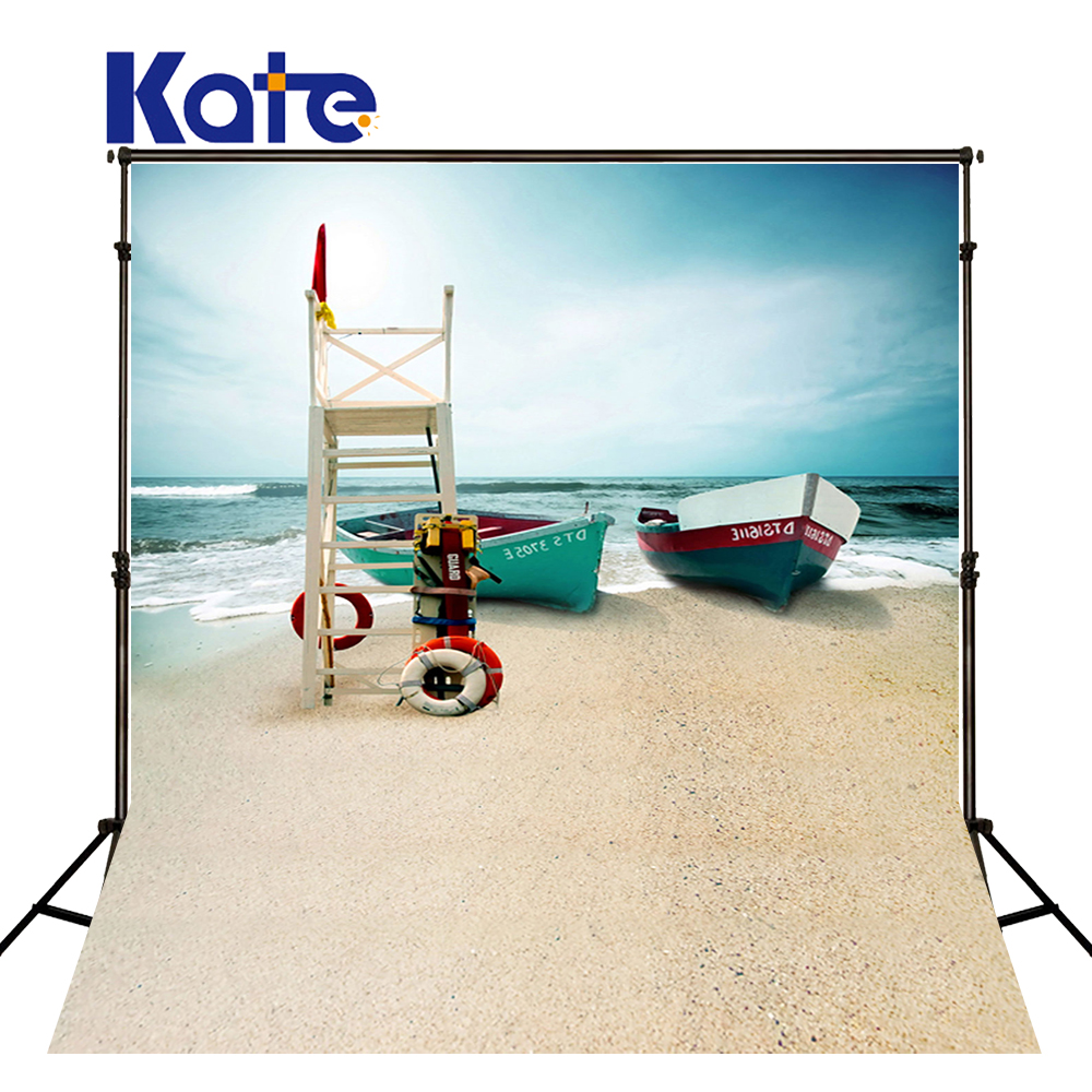 600Cm*300Cm Backgrounds Boats Moored On The Shore Of The Sea Photography Backdrops Photo Lk 1429<br>