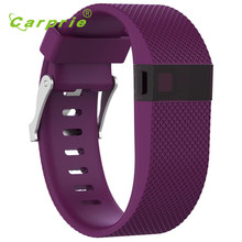 Carprie New Large Replacement Silicone Band Strap Wristband Bracelet For Fitbit Charge HR 17Jun20 Dropshipping