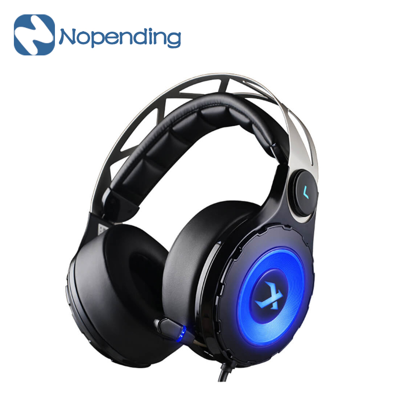 NEW Original XIBERIA T18 Gaming Headset Headphones Over-ear USB 7.1 LED Gaming Headsts with Retractable Microphone For PC Gamer<br><br>Aliexpress