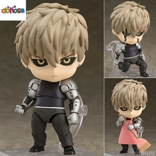 Nendoroid 645 - One-Punch Man: the cyborg Genos Super Movable Edition PVC Action Figure Collection Model Anime Kids Toy Doll(China)
