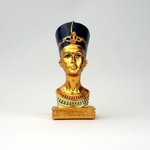 2017 Egyptian queen Home Furnishing resin decoration creative resin handicraft ornaments
