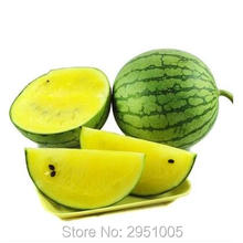 8pcs/original pack yellow flesh watermelon seeds,  fruit vegetble, courtyard balcony potted home garden free shipping