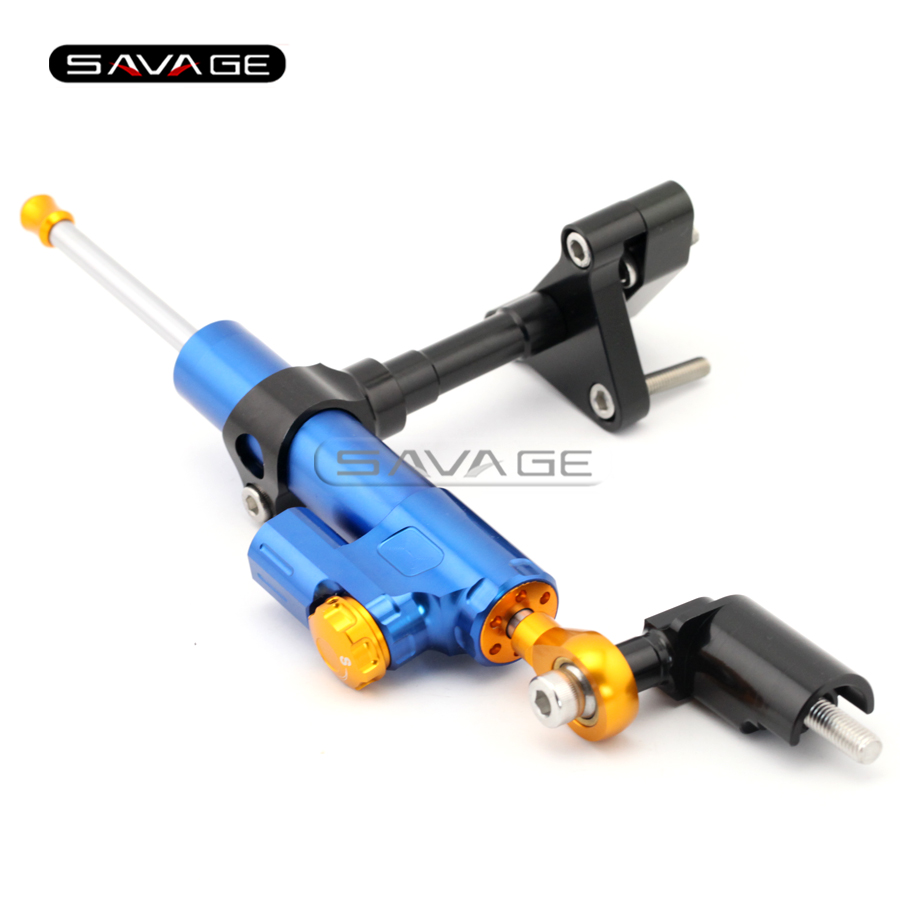 For YAMAHA YZF-R25 YZF-R3 2014 2015 2016 Motorcycle Accessories Steering Damper Stabilizer with Mount Bracket Kit C<br><br>Aliexpress