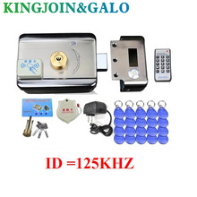 Buy 15pc tags Door & gate lock Access Control system Electronic integrated RFID Door Rim lock w/ 1000 users RFID reader intercom for $20.86 in AliExpress store