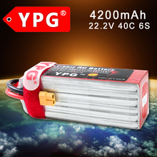 YPG 22.2V 4200mAH 40C 6S Lipo Li-Po Lipoly Battery  For RC Hobby Qudcopter Car Boat Airplane