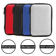 EVA Hard Disk Case Bag Hard Drive Zipper Carry Protector Case Cover Bag Protection Shell For 2.5 Inch Cable HDD Hard Disk Drive(China)