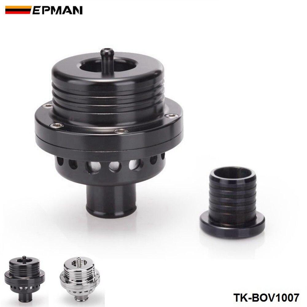EPMAN Sport 25MM Dual Piston BOV Blow off Turbo For Audi A4 S4 Golf Jetta 25 PSI TK-BOV1007 Silver