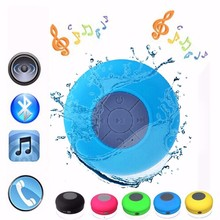 Mini Portable Speaker BTS06 Bluetooth Water Resistant Bathroom Shower Speaker Handfree call Outdoor Wrieless Bluetooth Speaker