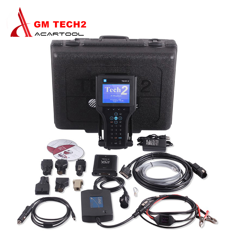 Best Quality Scanner For GM TECH2 Full Set Support 6 Softwares(GM,OPEL,SAAB ISUZU,SUZUKI,HOLDEN) GM Tech 2 diagnostic tool(China (Mainland))