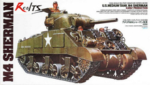 RealTS TAMIYA MODEL 35190 U.S. Medium Tank M4 Sherman (Early Production)(China)
