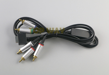 Component RCA HD AV Audio Video Cable for PSP GO PSPGO 2pcs/lot