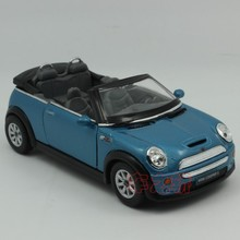 FreeShipping Diecasts Toy Vehicles Car Styling Convertible Mini Cooper S 1:28 Alloy Diecast Model Toy Car For Baby Gifts