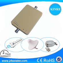 100% Cheapest Min Mobile Phone Signal Repeaters Amplifier Booster GSM 1800 MHZ with Indoor Antenna &Outdoor Antenna Freeshipping