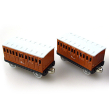 T0090 Diecast THOMAS and friend The Tank Engine take along train Magnetic metal children kids toy gift -- Annie & Clarabel(China)