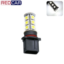 6pcs P13W 18 SMD 5050 Pure White Camaro Driving DRL Fog 18 LED Car Light Lamp Bulb led car light led auto
