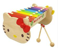 New Child Kid Baby Musical Instrument 8-Note wooden xylophone musical toy  Wisdom Development