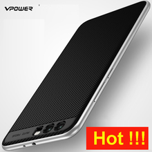 Huawei P10 Plus Case Huawei P10 Cover Vpower Luxury TPU+PC Hybrid Protective Cases For Huawei P10 Plus Mobile Phone Back Covers(China)