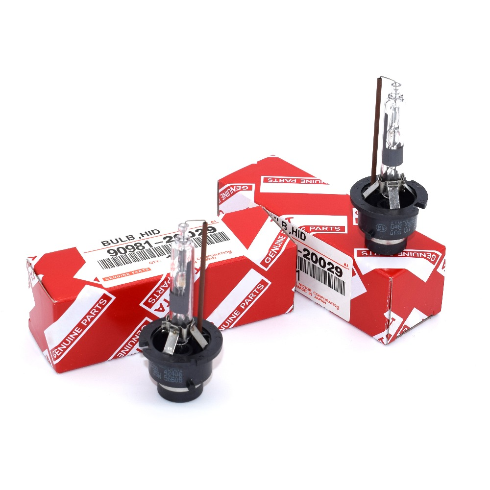2pcs D4R Xenon Bulb 90981-20029 HID Headlight Lamp Light 4300K 6000K 35W 12V For Lexus Toyota<br><br>Aliexpress