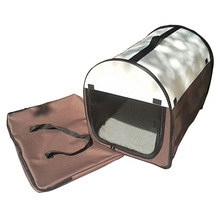 SDFC Oxford Portable Folding Pet Dog Soft Carrier Cage Home Crate Case Ship From USA coffee L