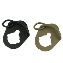 Hunting accessories AEG sling adapter/sling ring for AEG M4 / M16 stock link rod(China)