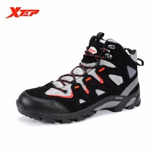 Xtep Original Men's Outdoor Hiking Shoes Boots Trekking Mountain Shoe Autumn Winter Athletic Sports Rubber Sneakers 986219179302