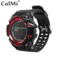 ColMi Smart Sport Watch T1 OLED Display Heart Rate Monitor IP68 Waterproof Push Message Call Reminder for Android IOS Phone(China)